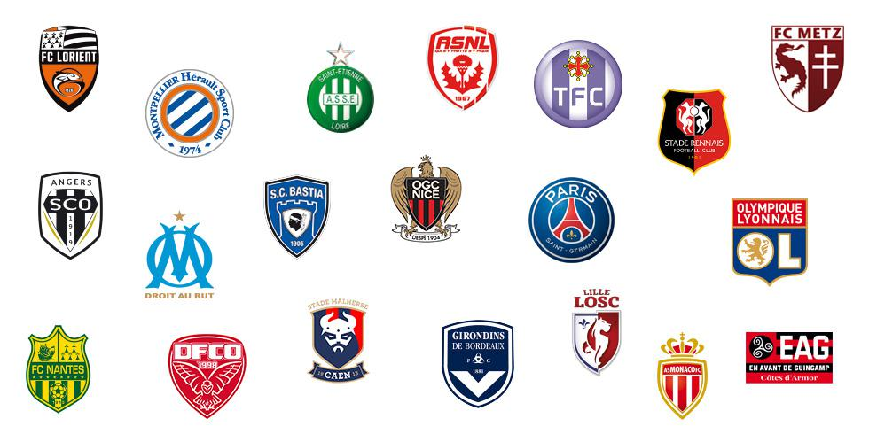 Photo logo ligue 1 - Ecusson monaco ...