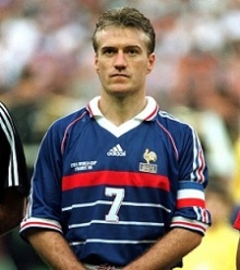 Didier DESCHAMPS - France / Croatie - 08.07.1998 - 1/2 finale -  Coupe du Monde - Stade de France